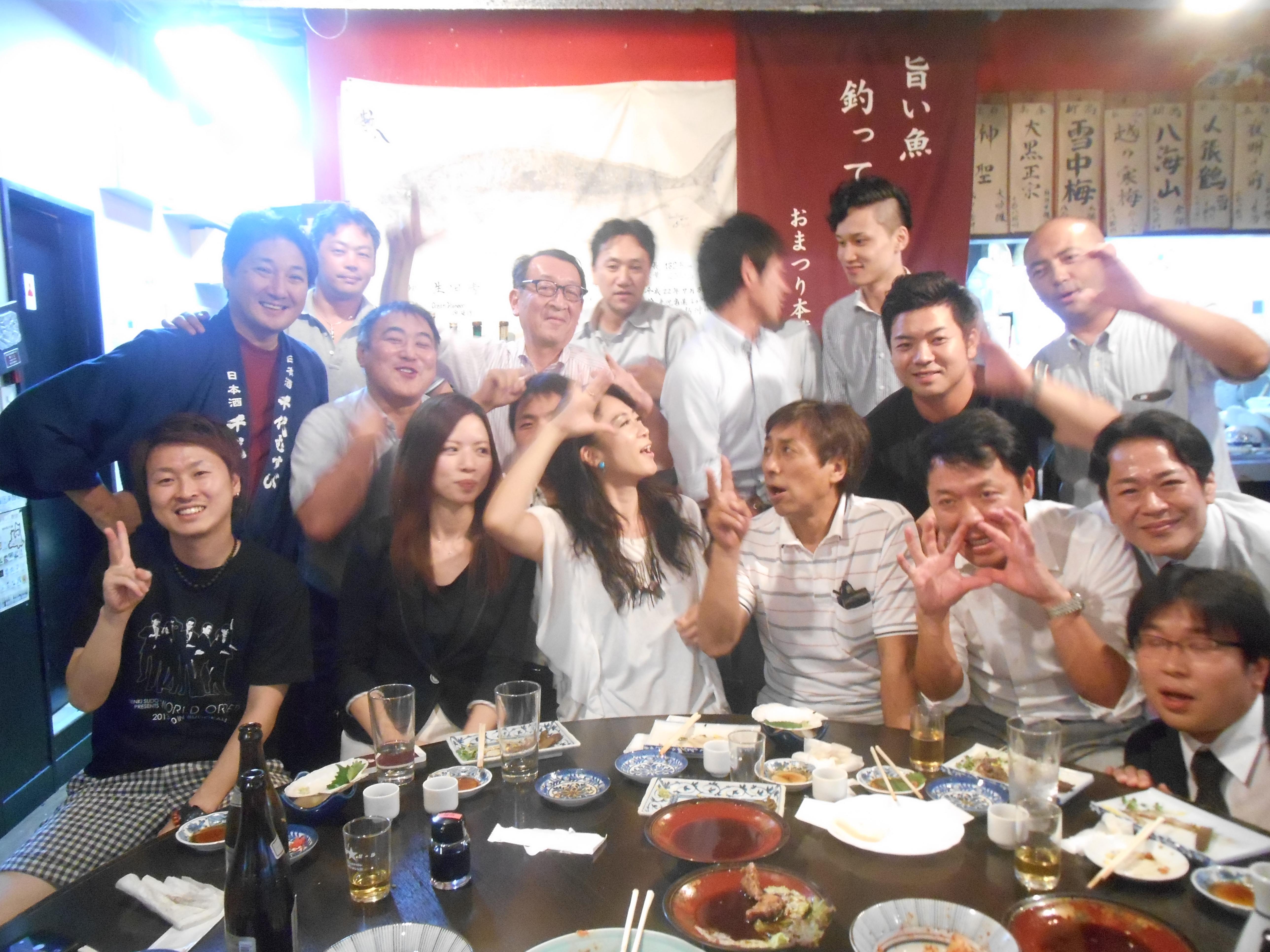 2015年9月14日 AOsuki定例飲み会開催しました。
