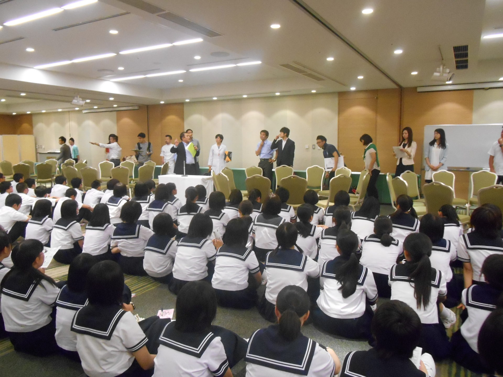 AOsukiフューチャーズゼミ 青森市西中学校