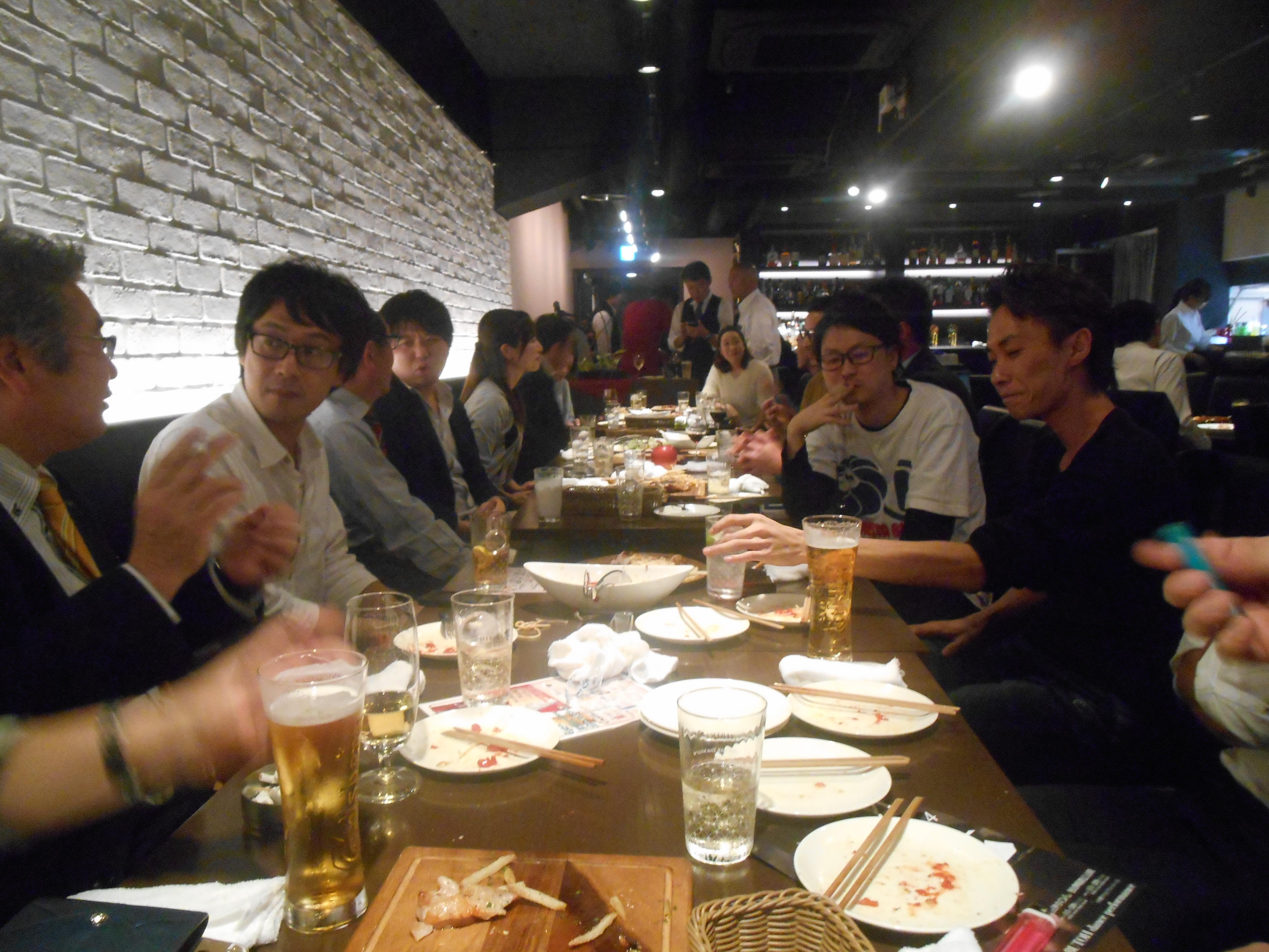 2015年11月16日(月) AOsuki定例飲み会開催致しました。