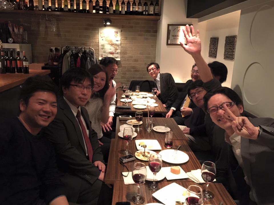 2016年2月15日(月)AOsuki定例飲み会開催致します。