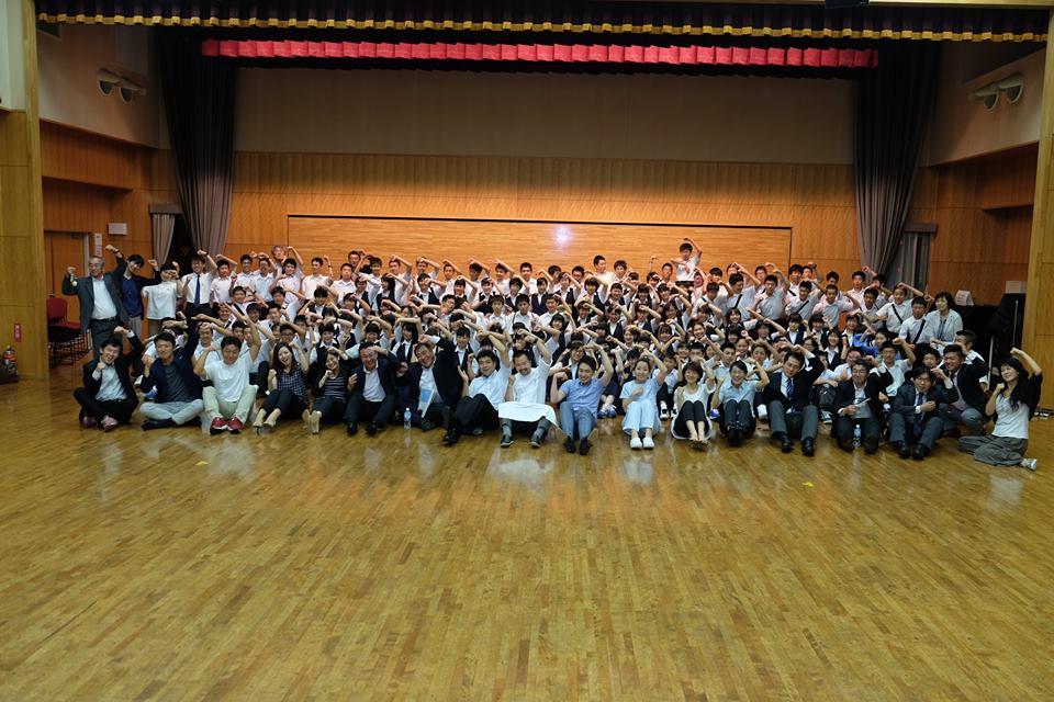 2016年6月28日 青森市立甲田中学校アオスキフューチャーズゼミ開催