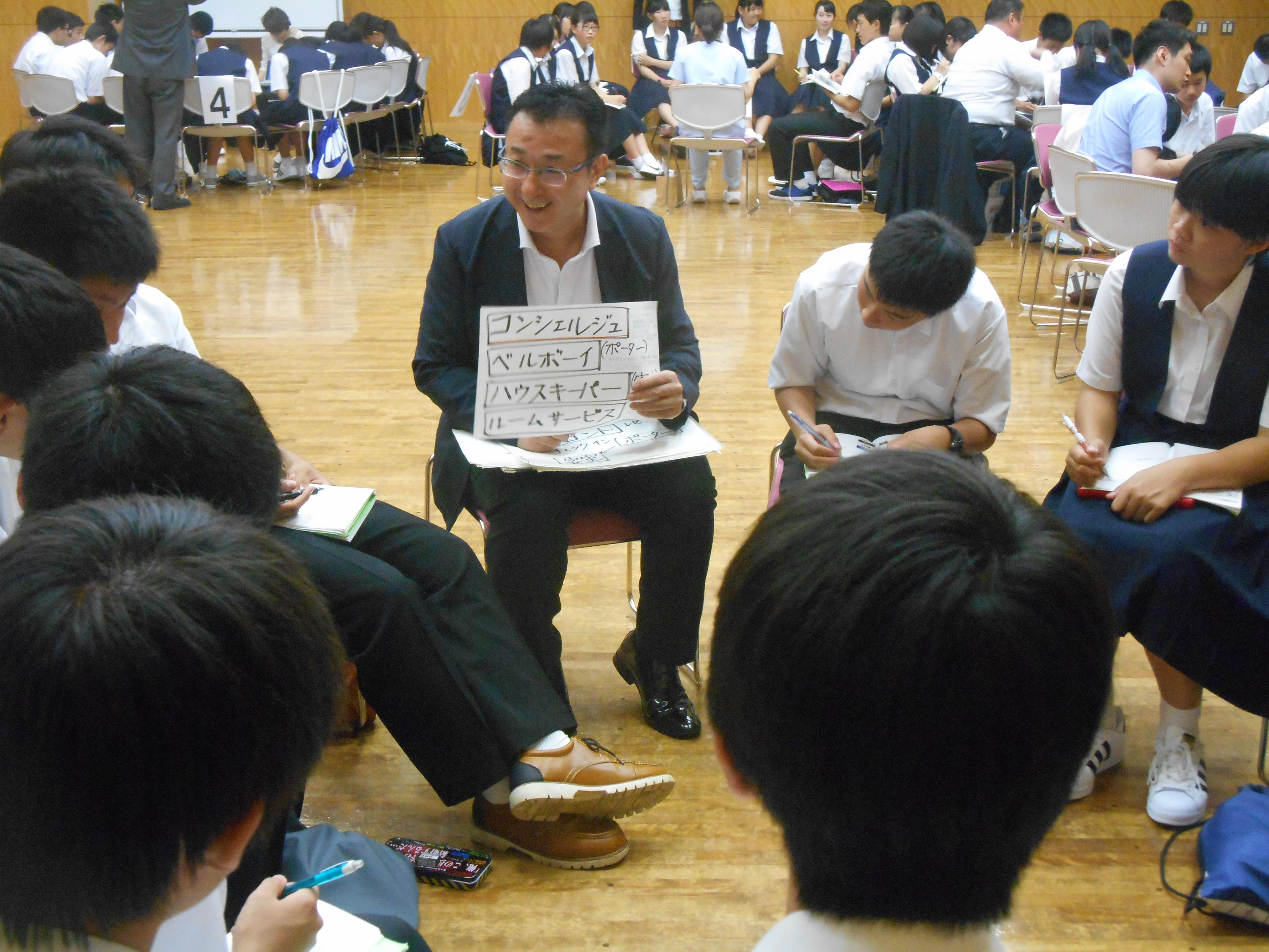 DSCN1752 - 2016年6月28日 青森市立甲田中学校アオスキフューチャーズゼミ開催