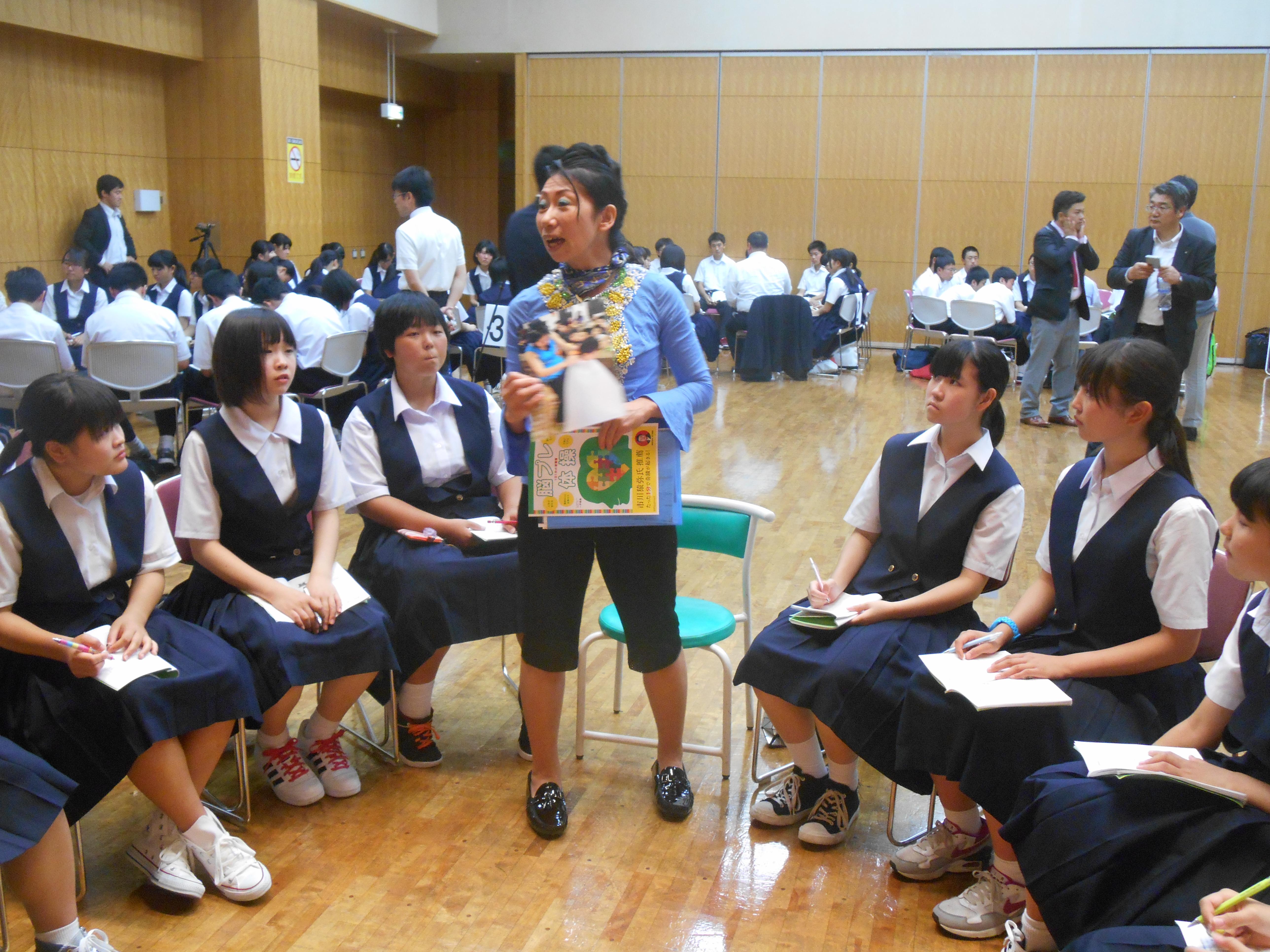 DSCN1769 - 2016年6月28日 青森市立甲田中学校アオスキフューチャーズゼミ開催