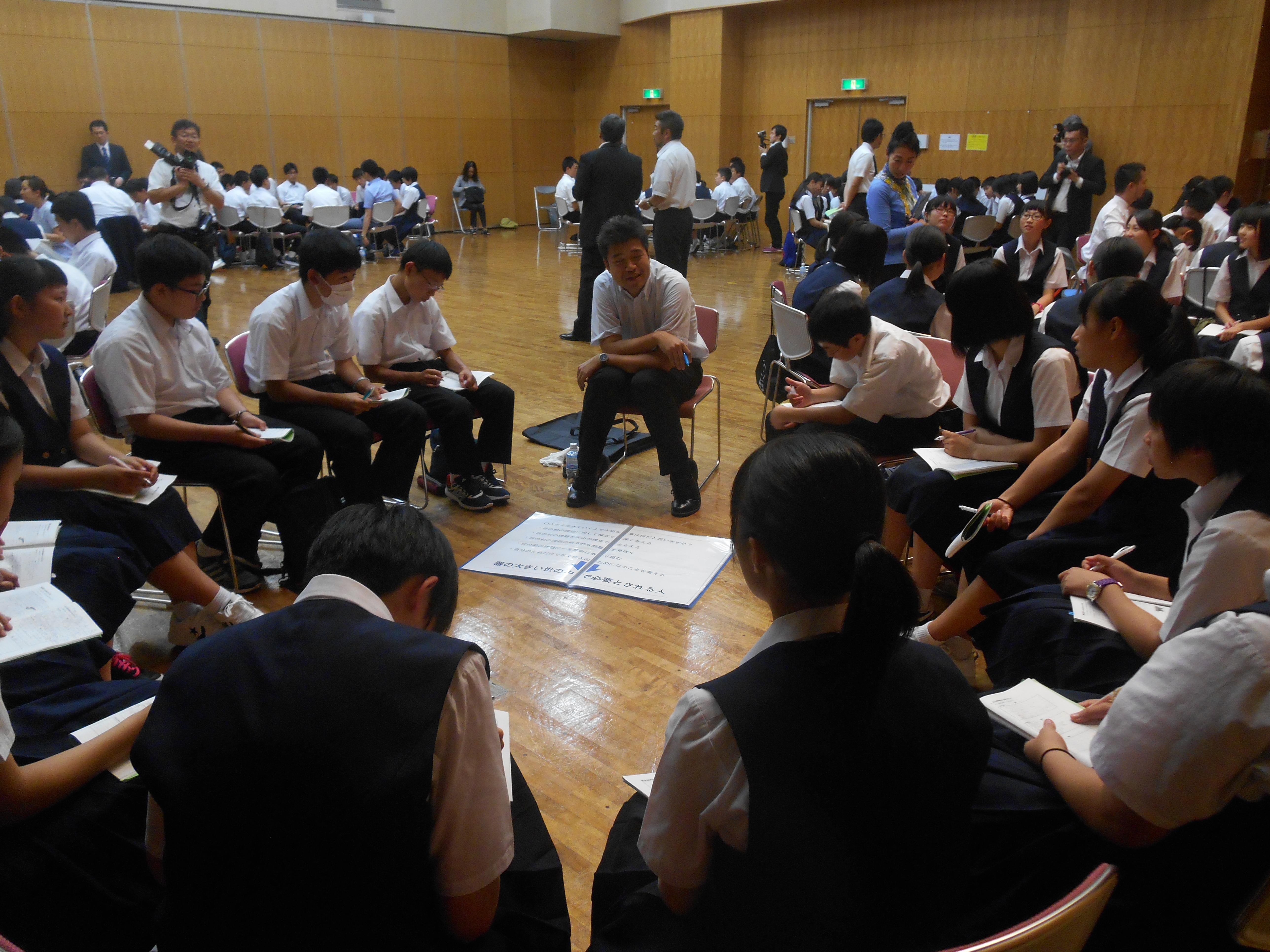 DSCN1790 - 2016年6月28日 青森市立甲田中学校アオスキフューチャーズゼミ開催