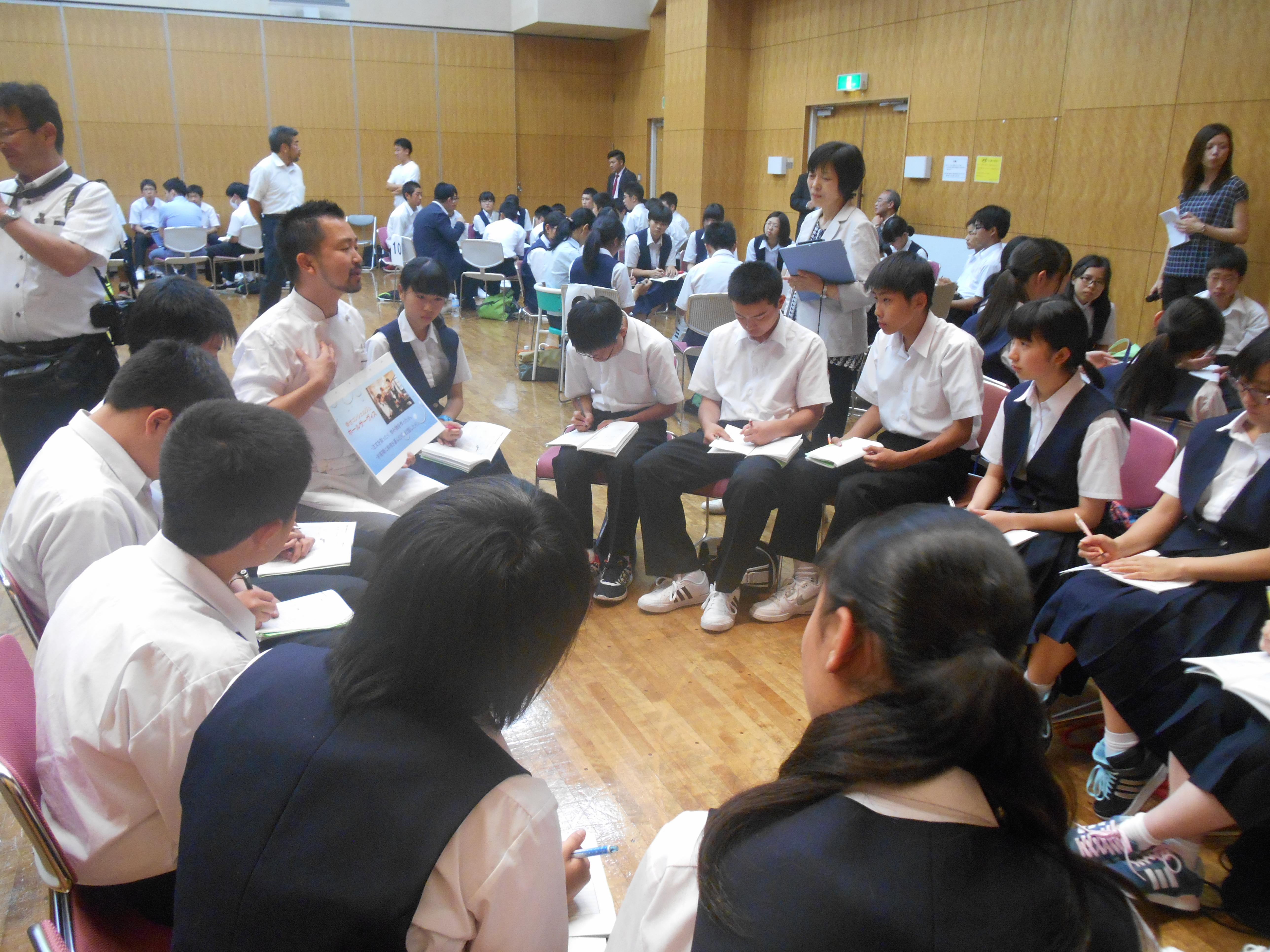 DSCN1799 - 2016年6月28日 青森市立甲田中学校アオスキフューチャーズゼミ開催