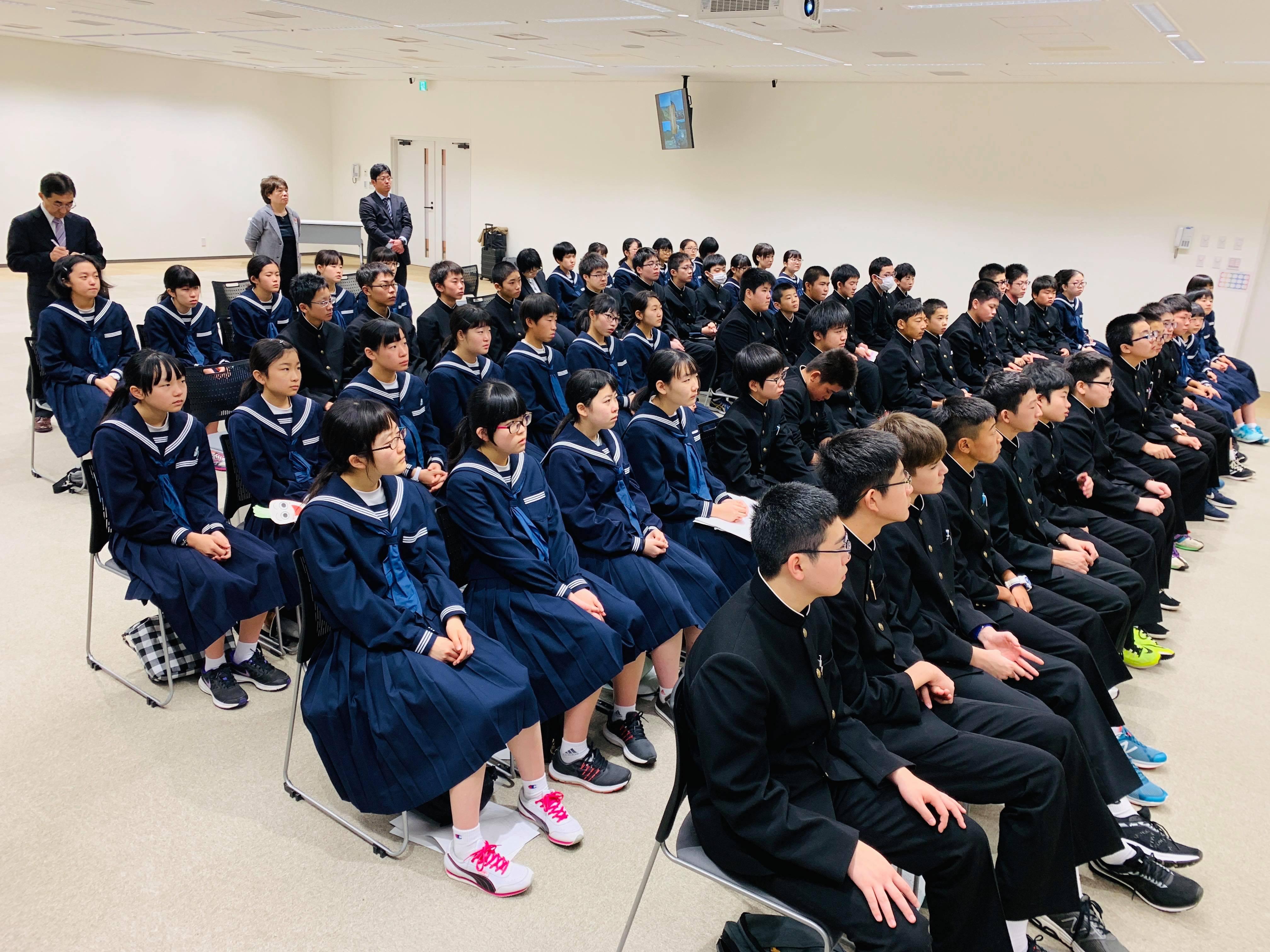 45488894 270900430231960 4378682895863119872 n - 2018年11月7日青森県東北中学校AFS(AOsukiフューチャーズゼミ)開催しました。