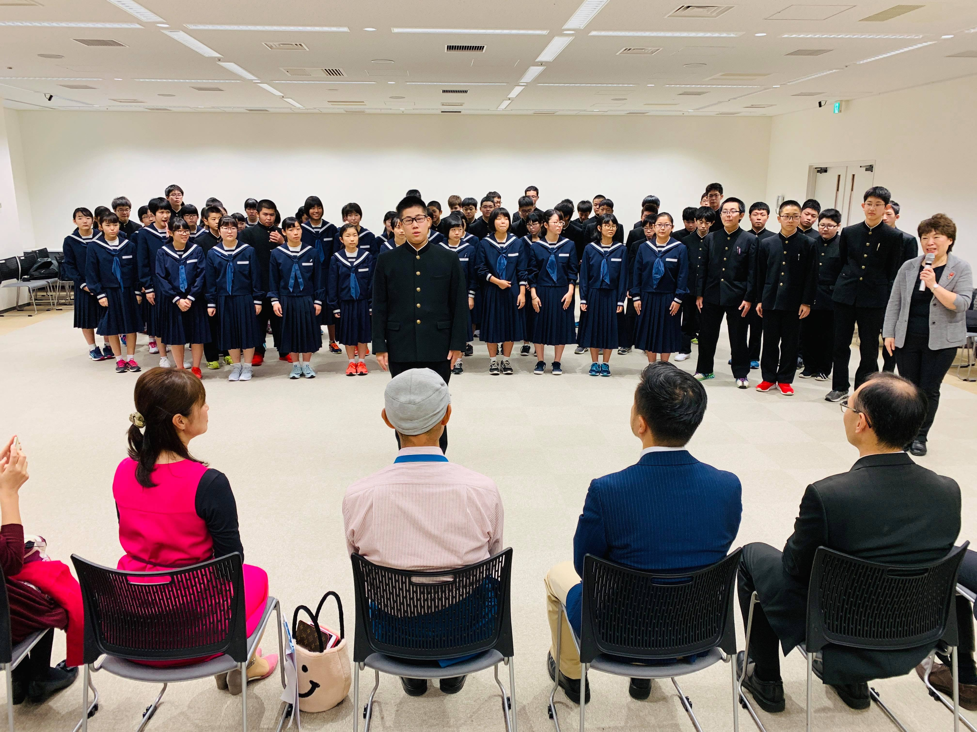 45546892 1213262172158008 2974655952201973760 n - 2018年11月7日青森県東北中学校AFS(AOsukiフューチャーズゼミ)開催しました。