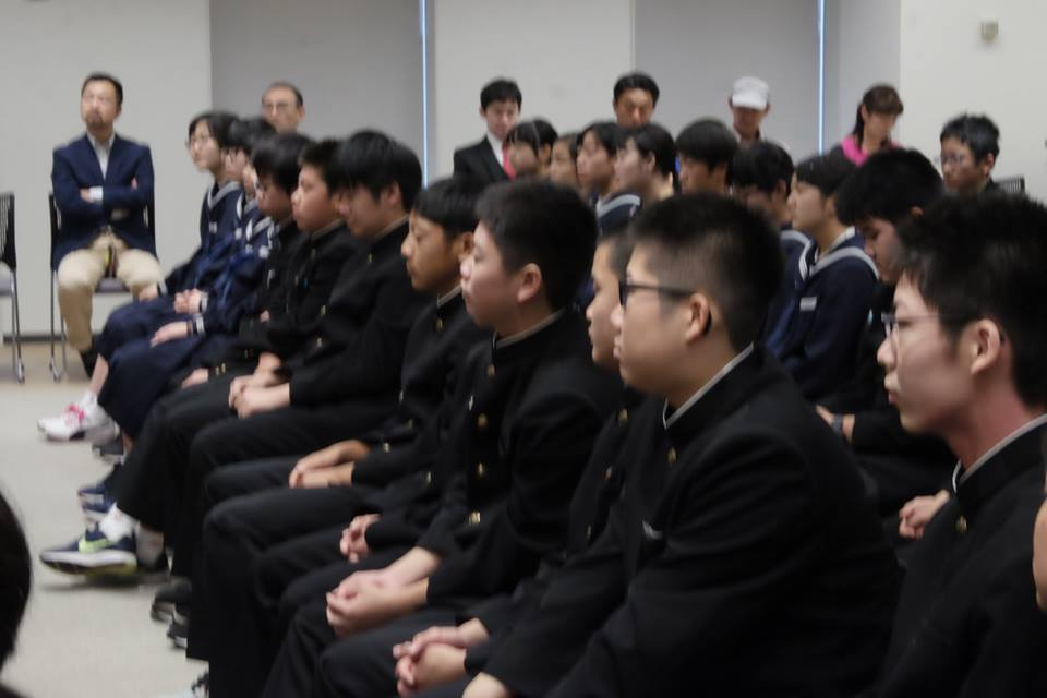 45586115 743216759363641 1604026154543480832 n - 2018年11月7日青森県東北中学校AFS(AOsukiフューチャーズゼミ)開催しました。
