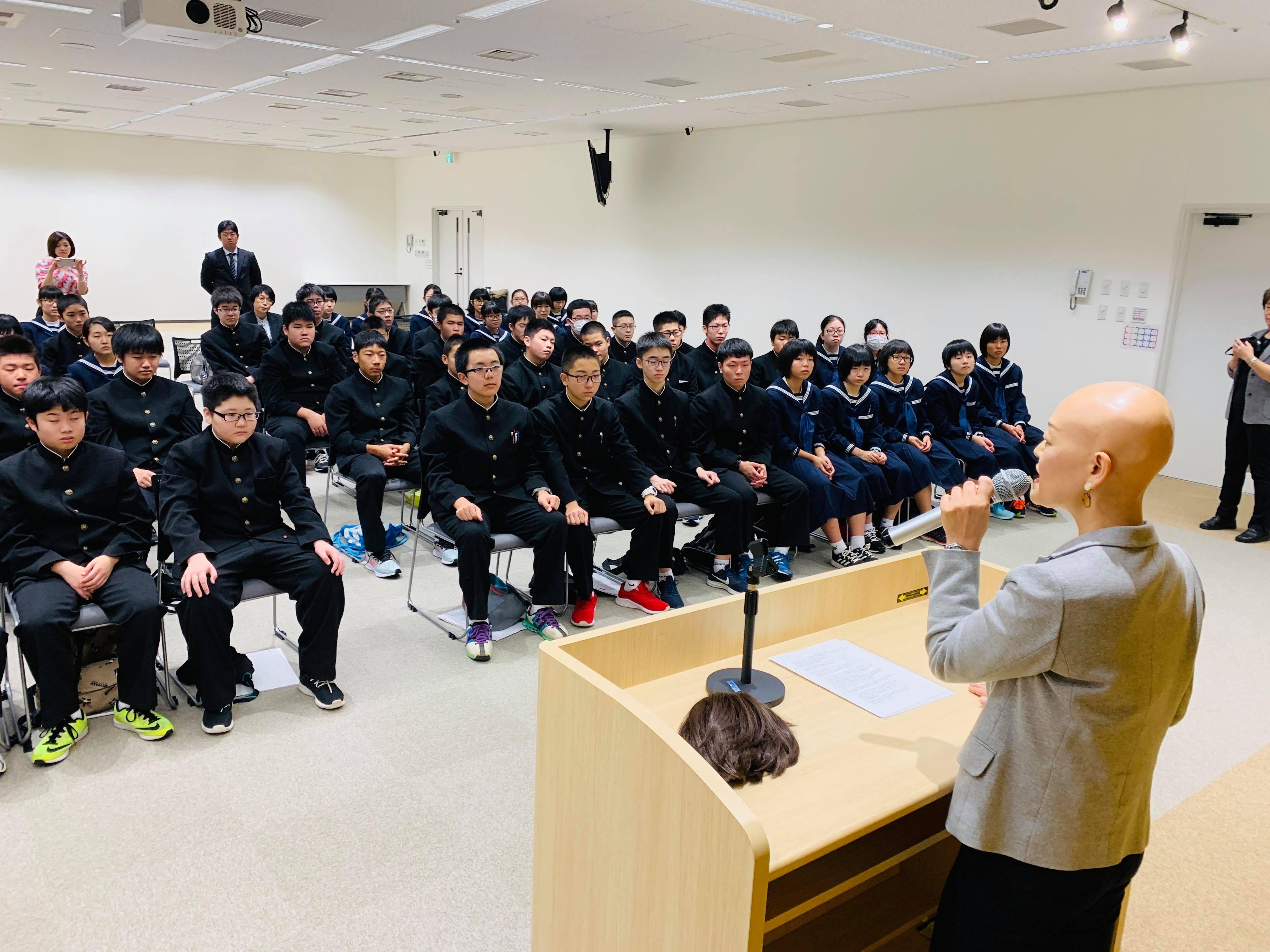 45649518 750979951912005 7002906264451678208 n - 2018年11月7日青森県東北中学校AFS(AOsukiフューチャーズゼミ)開催しました。