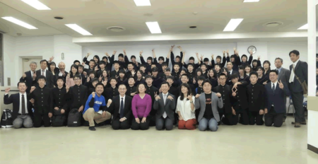 AOsukiのAFS(2018年4月18日青森市戸山中学校)