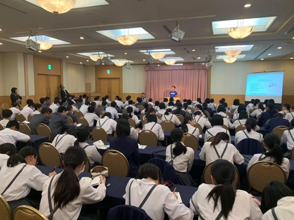 58079865 2237582926320750 9032938847717031936 n 1 - 2019年4月23日青森市立三内中学校の130人の生徒さんにAFS開催しました。